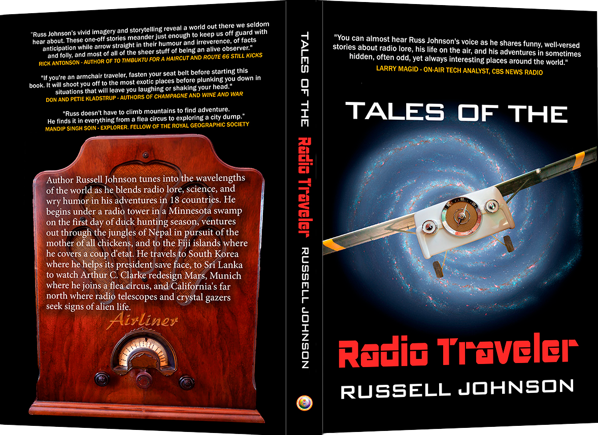 Tales of the Radio Traveler Cover Russell Johnson