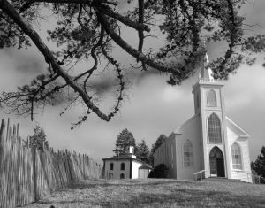 Hitch's Church and Schoolhouse - Bodega, California