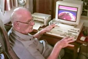 Arthur C. Clarke Redesigning Mars