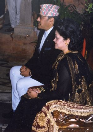 The Assassinated King and Queen of Nepal