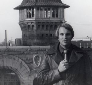 The Author as a Young Reporter at Folsom Prison, California