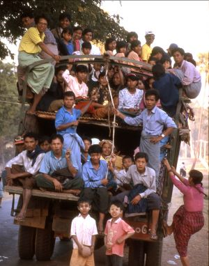 Public Transportation - Myanmar aka Burma