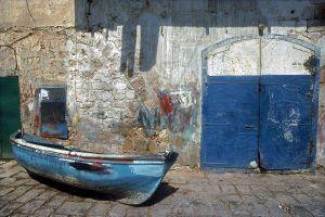 Painted Boat: Akko, Israel 1987